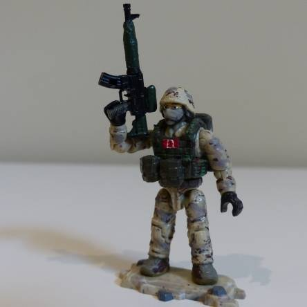 Custom Canadian Armed Forces figure