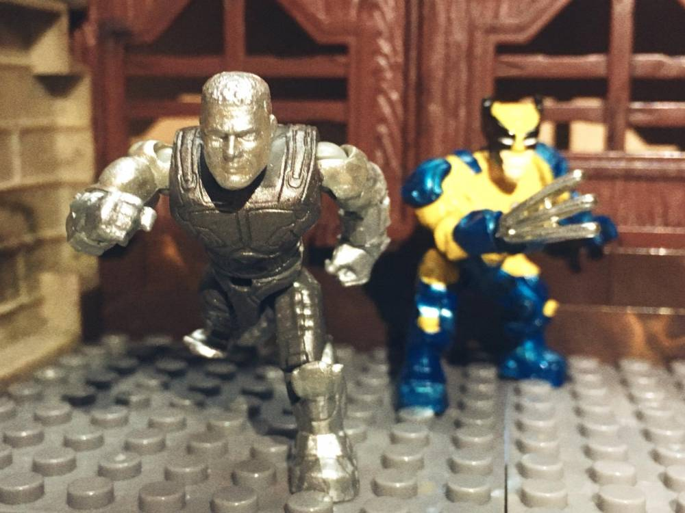 Image of: Colossus and Wolverine