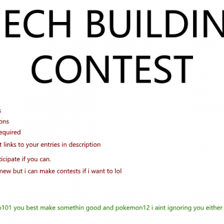Image of: Mech Building Contest!