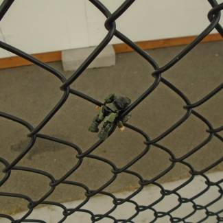 Image of: this is a hard fence