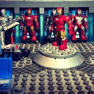Image of: Iron man (Hall of armor)