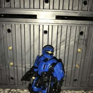 Image of: My Custom ODST blue recon.!