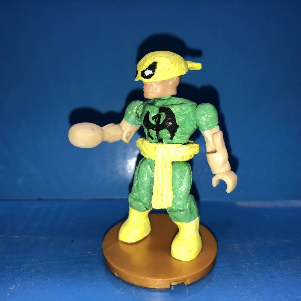Image of: Marvel mega bloks the Iron Fist and the Defenders