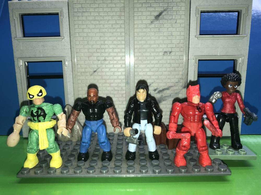 Image of: Misty Knight and the Defenders Marvel Mega Bloks