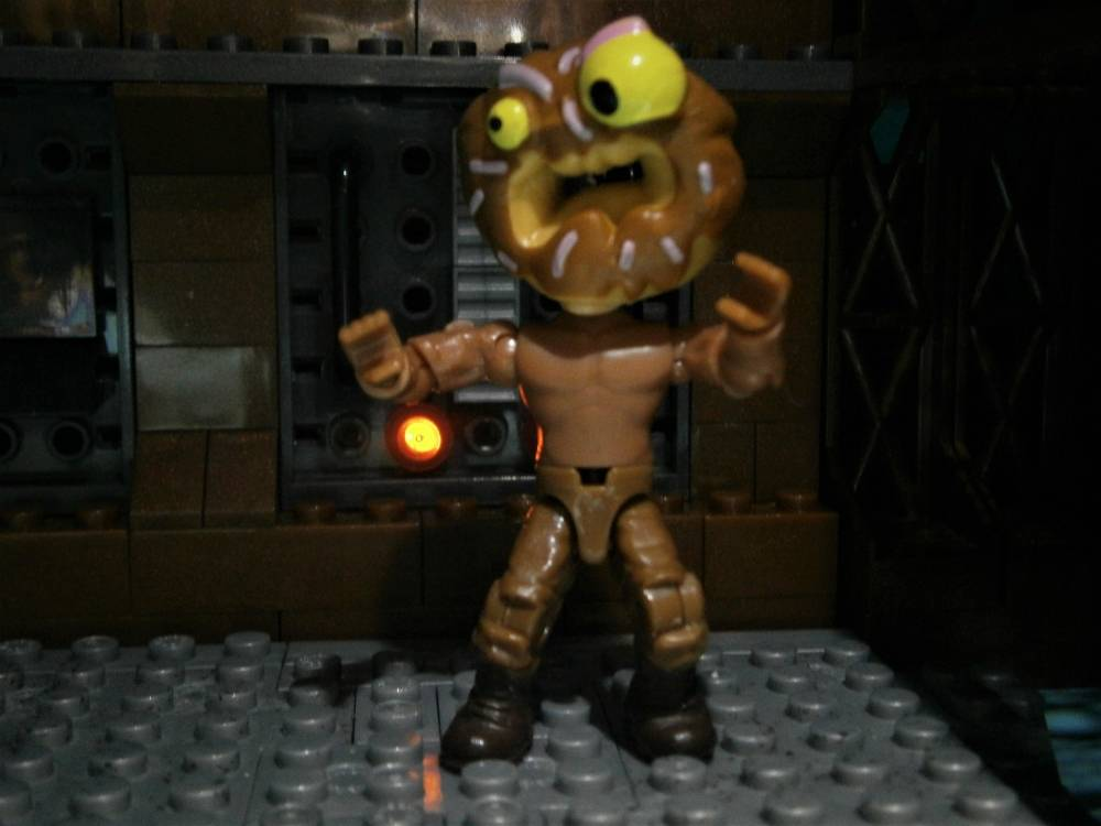 Image of: Halloween contest entry, DonutHead