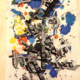 Image of: The Painted Arsenal