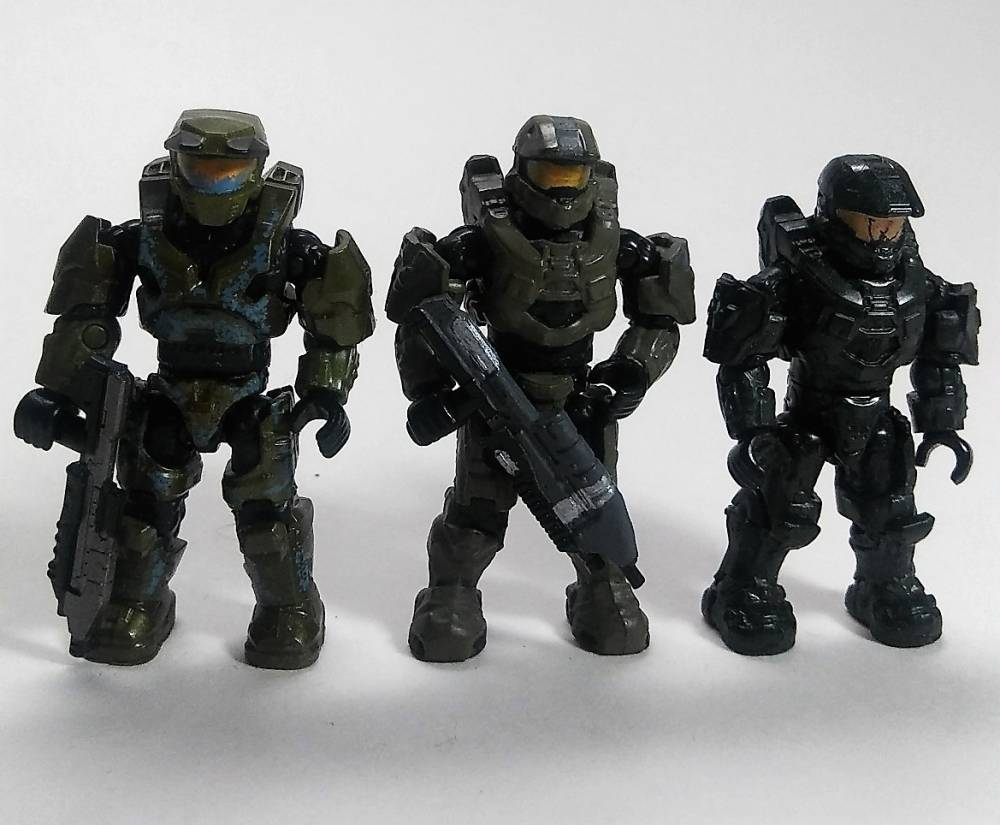 "Image of: Halo Heroes Series 7 ""Yrkanne"" Chief"