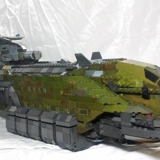 Halo Reach Transport Shuttle