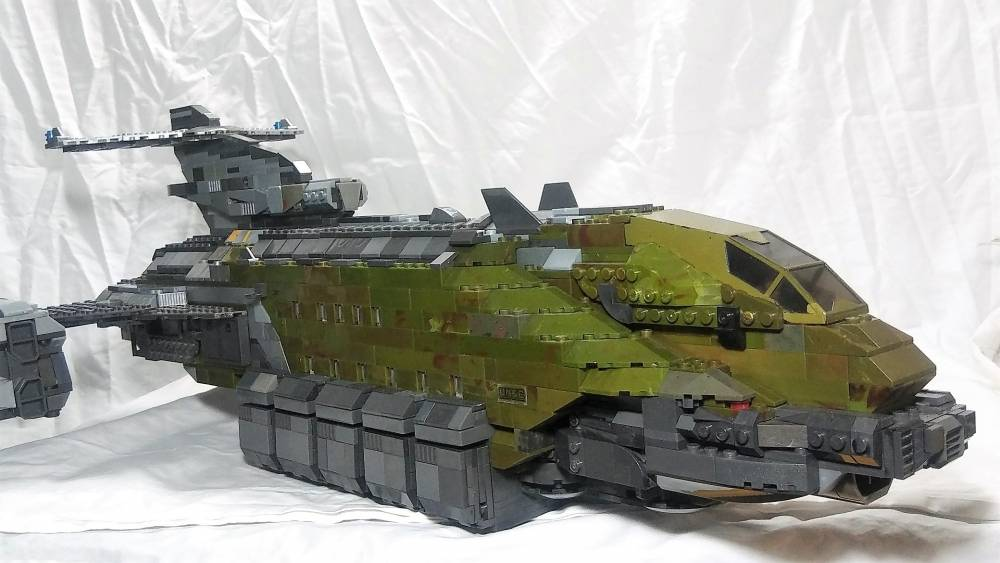 Image of: Halo Reach Transport Shuttle
