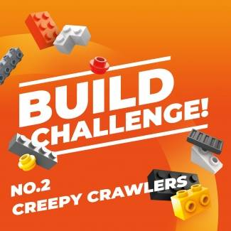 Image of: Build Challenge #2 - CREEPY CRWALERS