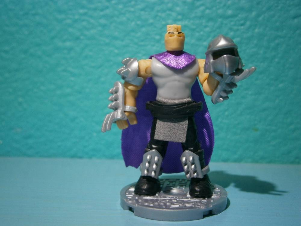 Shredder's true form