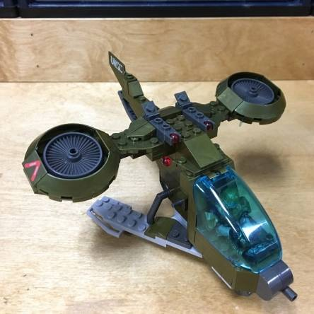 Image of: First Look: UNSC Hornet Blitz