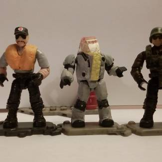 Image of: GI Joe '84 Figures