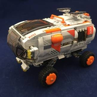 Image of: Pro builder space rover modification