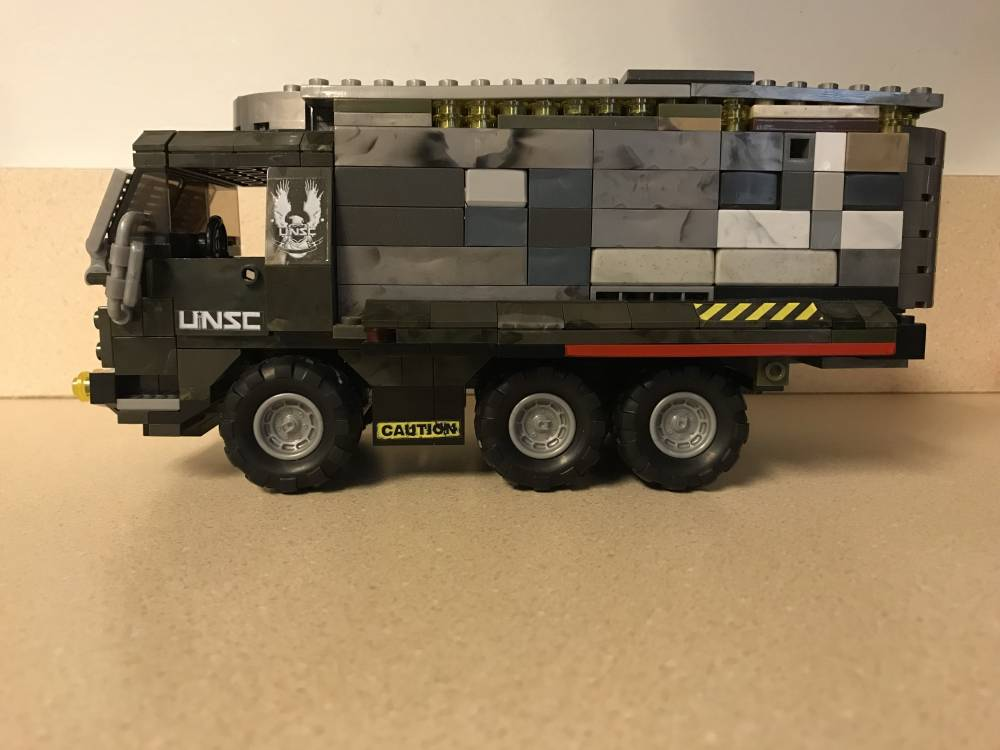 Image of: Showcase:UNSC truck mod