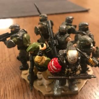 Image of: Emile and my Marines are on the warpath