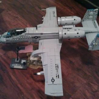 "Image of: Fairchild Republic A-10C Thunderbolt II ""Warthog"" Final build!"