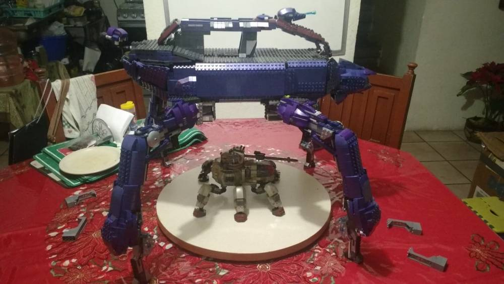 Image of: halo 2 scarab super articulado