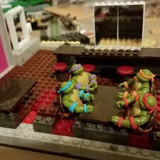 Image of: TMNT Pizza Place work in progress pics