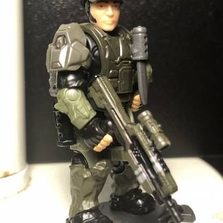 Custom Marine squad Major