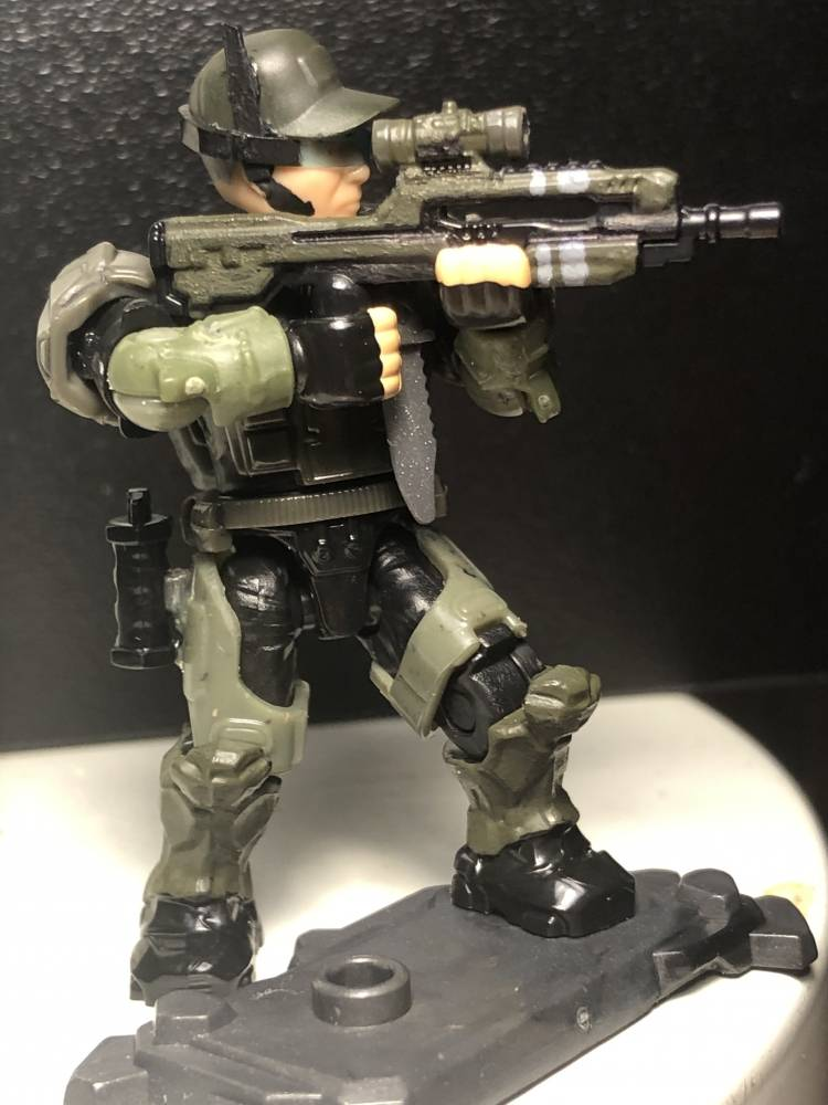 Image of: Custom Marine squad Major