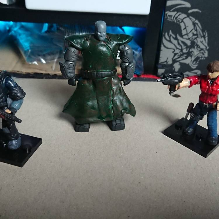 Image of: Resident evil Characters Part II