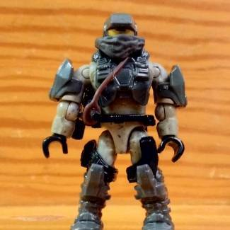 Image of: Pop n Swap custom : UNSC Marine Desert Ranger