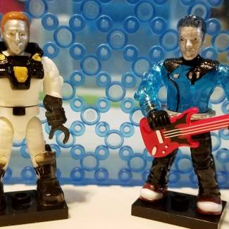 Image of: New Micronauts members