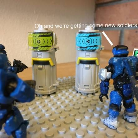 New soldiers