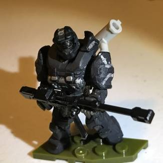 Image of: Halo Reach armor custom done