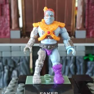 Image of: MOTU Battle Damaged Faker