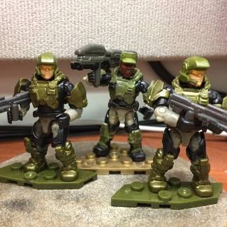 Image of: A New Dawn Halo 3 Marine comparison pics