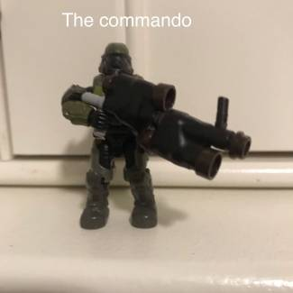 Image of: Commando