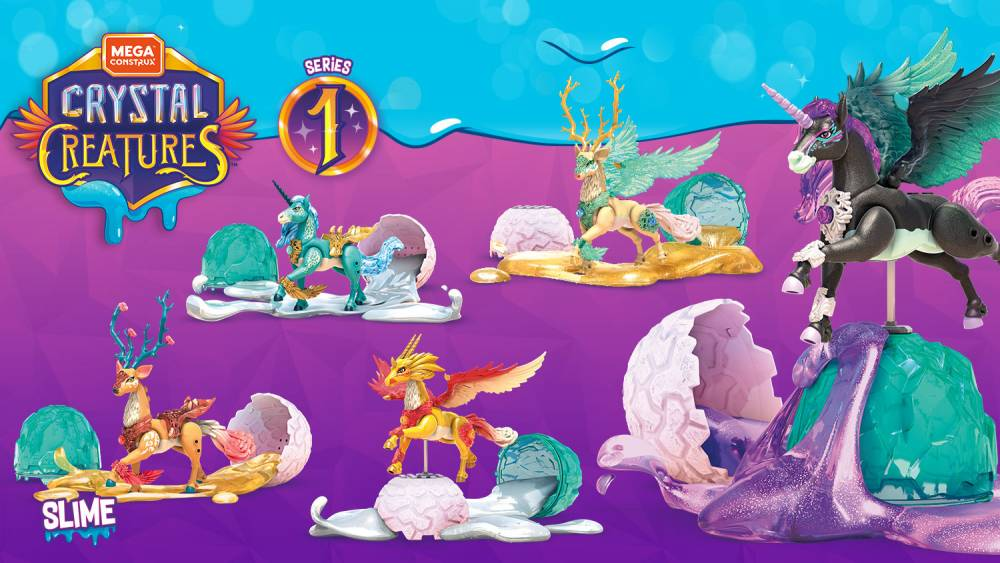 New York Toy Fair Surprise Reveal: Introducing Crystal Creatures™!