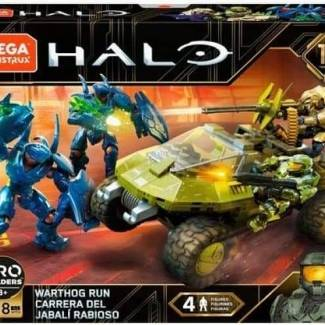 Mega Construx Halo Warthog Run revealed!