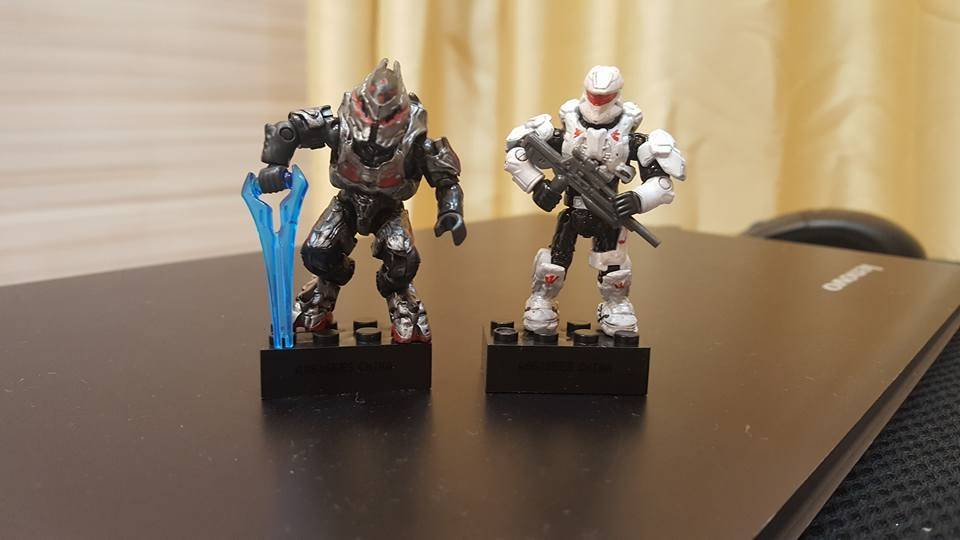 Image of: My custom painted figures so far ...