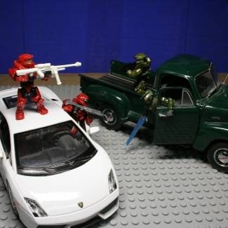 Image of: Car Battles Contest Entry