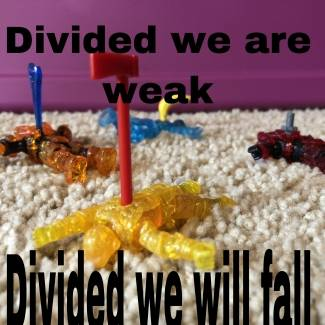 Image of: Together we are strong!