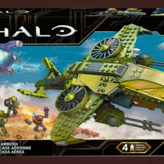Image of: Aerial ambush remake and new halo heroes