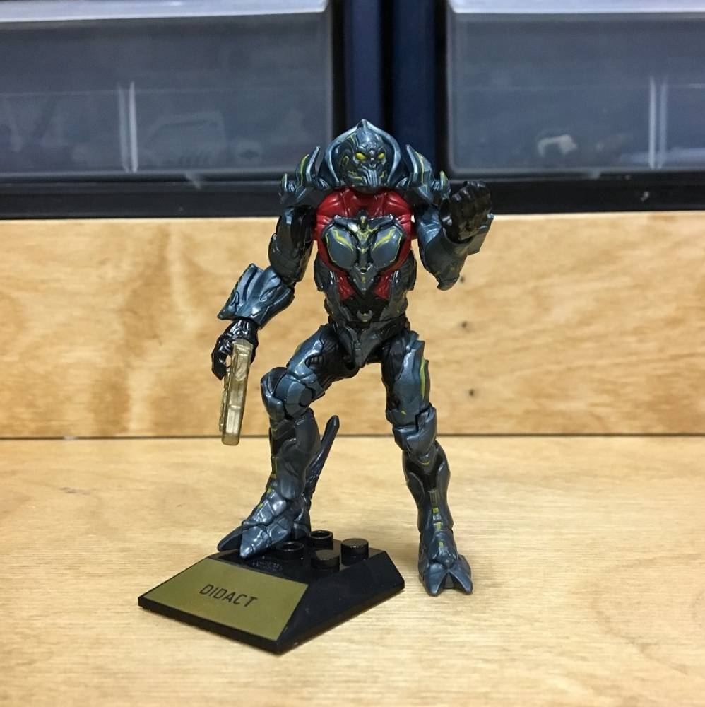 Image of: First Look: Halo 10th Anniversary Halo Heroes Yap Yap and Didact