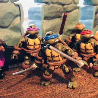 Image of: Custom TMNT