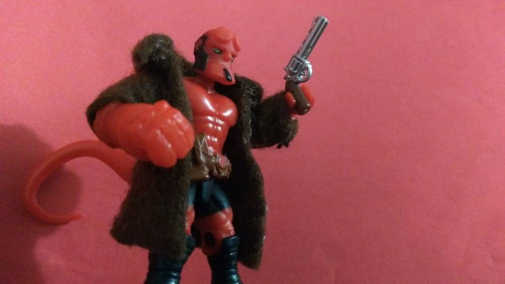 Image of: Hellboy custom