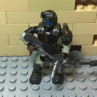 Image of: Custom battle damage ODST Romeo