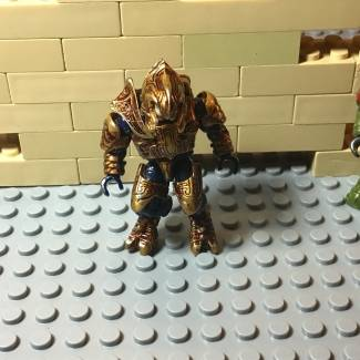 Image of: My old first custom figure The Arbiter