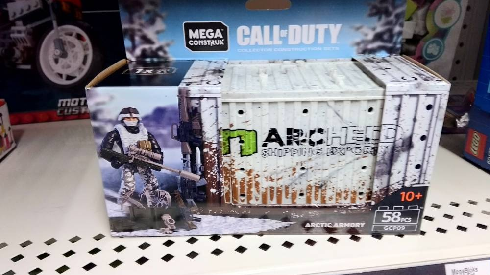 New CoD single figure arctic crate found in Dollar General
