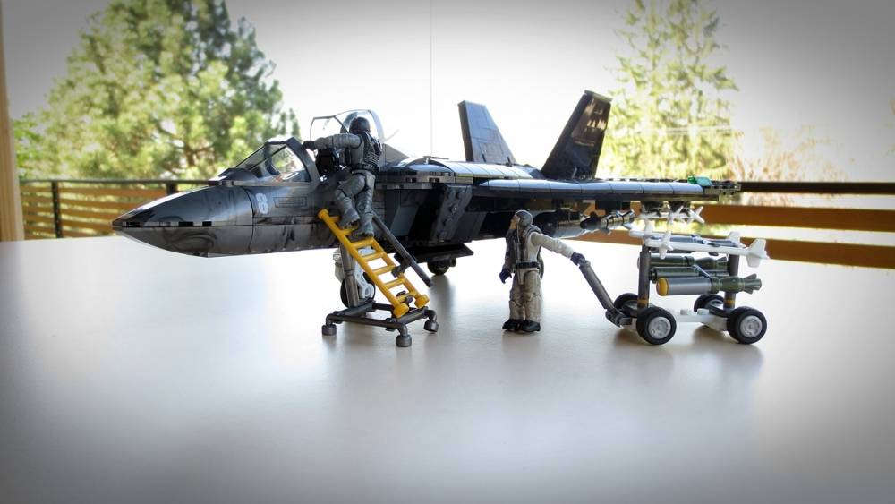 Mega Construx | Fan Gallery | Combat jet plane, something
