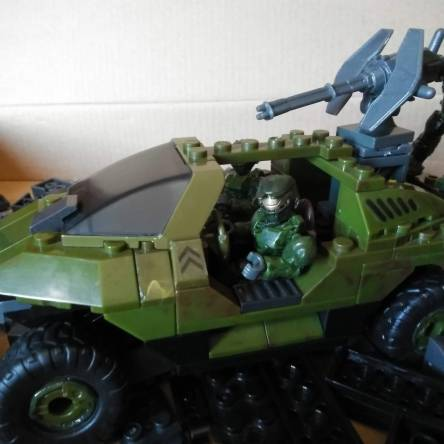 The Warthog: This is how my collection started.