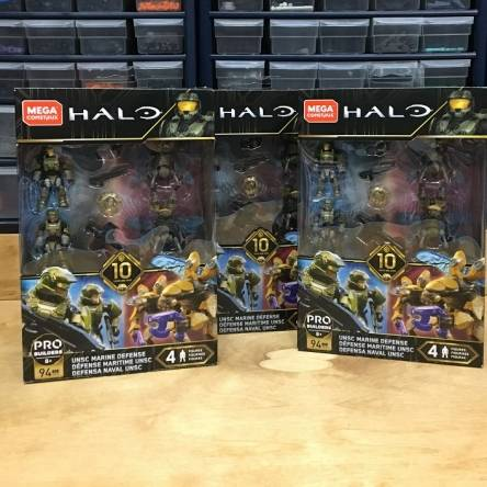 Image of: First Look: Halo 10th Anniversary Marine Defense