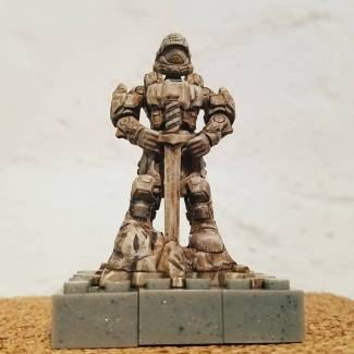 Image of: ODST Statue