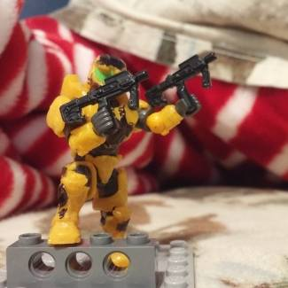 Image of: Remember halo 2/ CUSTOM MINIFIGURE